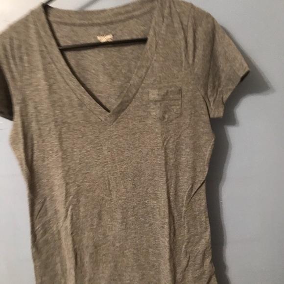 Mossimo Supply Co. Tops - Gray vneck T-shirt